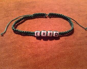 EXID Macramé Bracelets