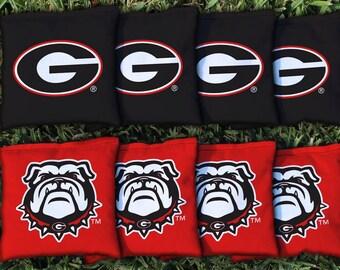 Georgia Bulldogs Cornhole Bag Set