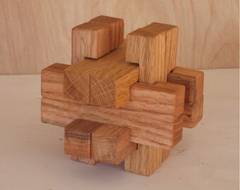 Star Box 04 3-d wooden puzzle