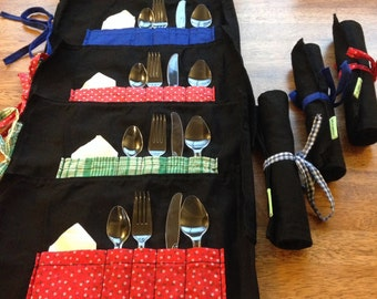 Placemats-utensils, utensil Caddy