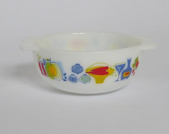 Vintage JAJ Patterned Bowl