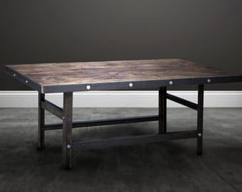 Industrial Dining Table - 6 seater