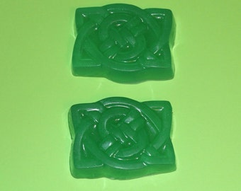 Cute Green Little Soap - Herbal Fragrance