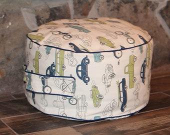 Kids Floor Pillow, Cushion, Bean bag chair, Playroom, Seat, Pillow Pouf