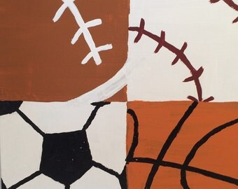 Four Sport Painting