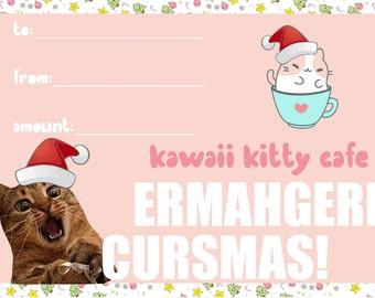 Kawaii Kitty Cafe Gift Card