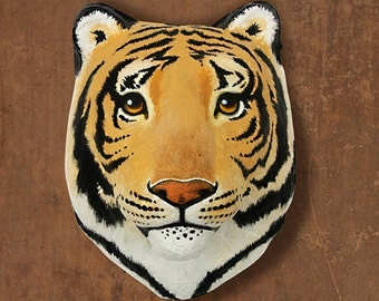 Wall hanging. Young tiger