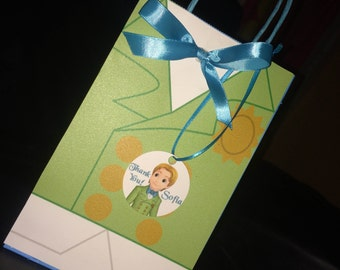 Prince James favor bags Sofia the First