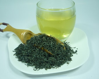 Vietnam Green Tea, Tan Cuong Green Tea, Top Quality in Spring Season, Special with Sweet and Buttery Taste, 3.5 (oz)