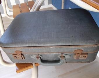 suitcase - vintage suitcase - retro suitcase