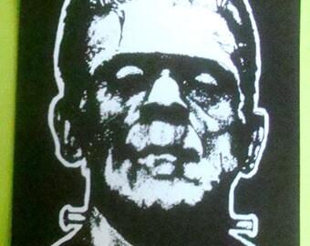 Frankenstein STICKER - vinyl - Universal Monsters / Horror / Boris Karloff
