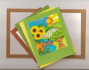 Homemade & Handcrafted All Purpose Greeting Cards