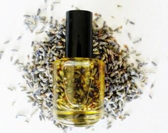 Organic Lavender Cuticle Oil, All Natural Nail Care, Unscented Cuticle Oil, Jojoba Oil, Vitamin E Oil, Coconut Oil, Gifts For Her, Vegan