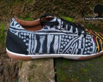 Wax/Ankara sneakers sneakers