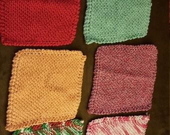 Handmade dishcloth