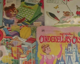 Big Lot Vintage Children's Books Illustrations Ruth Ainsworth Disney Scarry More!