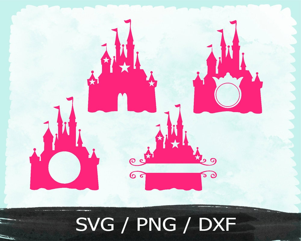 princess castle svg vinyl cut files cricut design spac