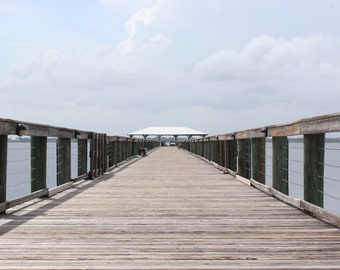 Pier - Pier Photo - Pathway - Sea - Natural - Natural Pictures - Prints - Digital Photography - Instant Download - Beach House Decor