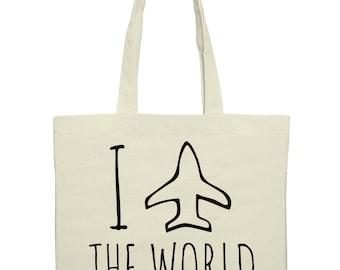 I Travel The World- Bag