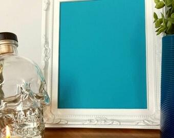 Framed Chalkboard - Blue Chalkboard - Antique Chalkboard