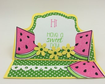 Have a Sweet Day Stand-Up Card