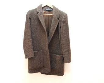 Brown Twill Coat