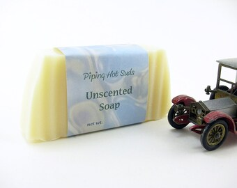Unscented Soap, Organic Soap, Natural Soap, Handmade Soap, Homemade, Cold Process