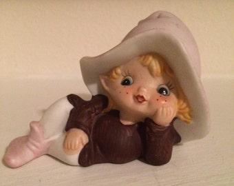 Homco Elf Pixie