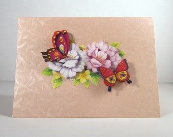 Butterflies and Flowers Giftcard