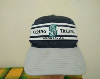 Rare Vintage SEATTLE MARINERS Spring Training Cap Hat Free size fit all