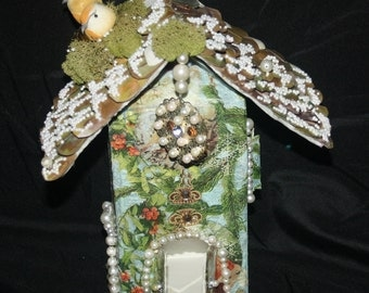 Santa's House    craft, recyclable, eco freindly