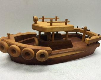 Wooden Tugboat