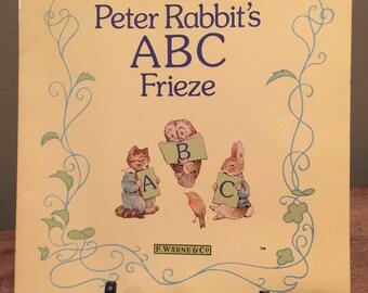Peter Rabbit's ABC Frieze