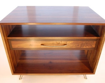 Walnut furniture trio - 3 pieces as a set or individually
