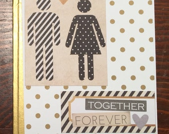 Together Forever Wedding / Engagement Card