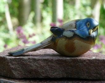 Bing & Gröndah Bird figurine.  Colletable Titmousel. The pessimist.