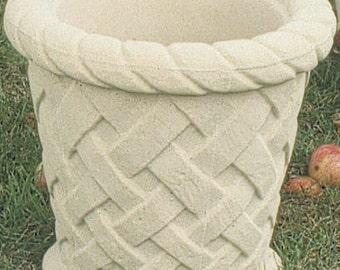 Planter medium lattice tub x 4