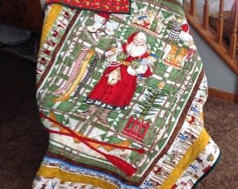 Woodsy Santa Quilt