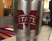Mississippi State Vinyl decal