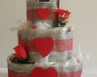 Diaper cake my baby love
