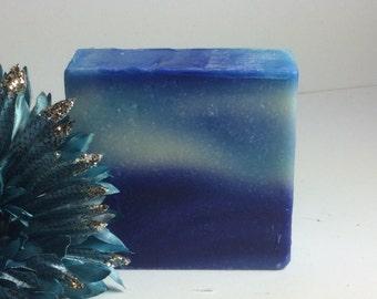 Ocean Breeze Handmade Cold Process Olive Oil Soap/soap bar/natural soap/shea butter/soap/natural/bar soap/