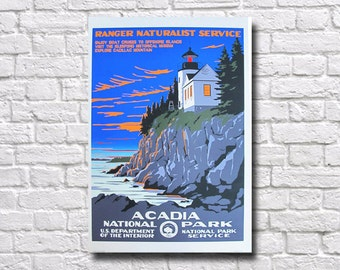 Acadia National Park Poster - #0170