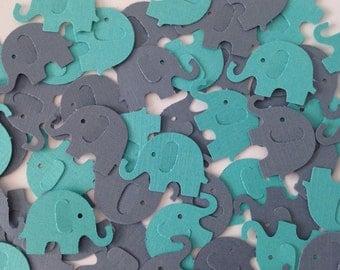 Baby Elephant Baby Shower, Elephant Baby Shower, Elephant Baby Shower Decorations, Baby Elephant Confetti, Blue Elephant Confetti