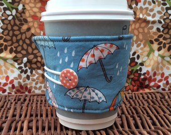 Handmade Umbrella Rainy Day Cup Cosy