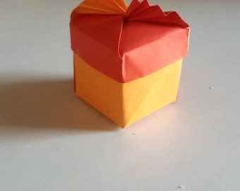 origami fan box/boxes/favor box/price for one piece