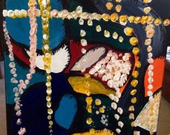 Pearls - SMALL Original Abstract Painting