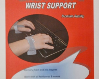 Easy Type Computer Keyboard and Mouse Wrist Support
