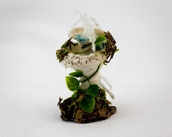 Fairy Shell WaterFountain, Fairy Fountain, Fairy Garden Item