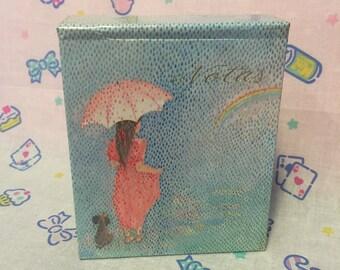 Vintage Busquets Memo Notebook (1985) - Libro de notas multicolor Busquets