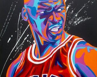 8x10 Michael Jordan Print
